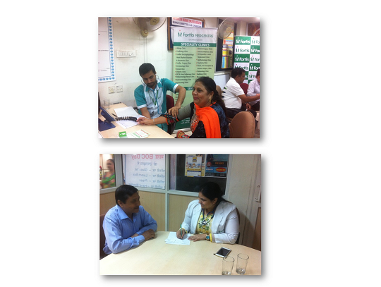 Health camp at LIC