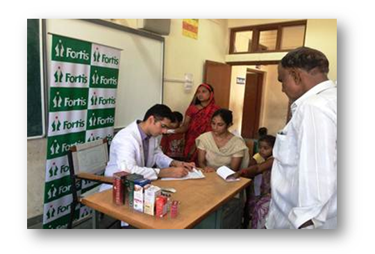 400 screened during health camp