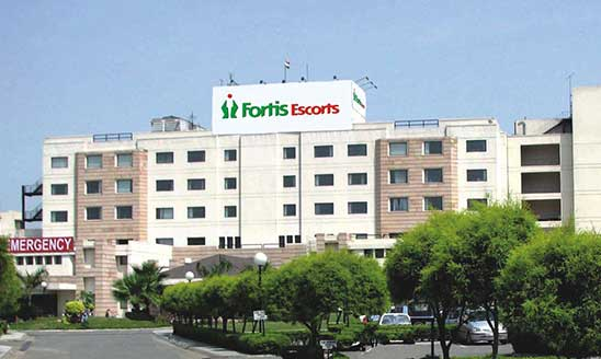 Image result for fortis hospital image