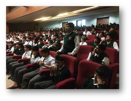 Session on 'Pubertal Changes' at DPS School, Chandigarh