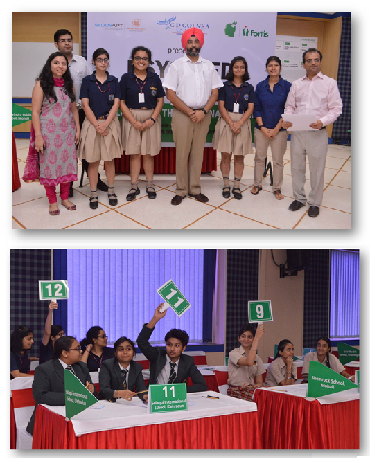 Zonal qualifier round of Fortis first-ever National Quiz on Psychology held at FHM