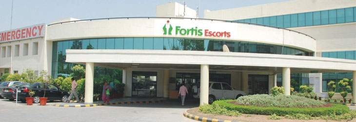 Fortis Escorts Hospital, Faridabad