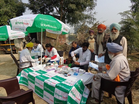 Free Medical Camps In Villages | Fortis Healthcare