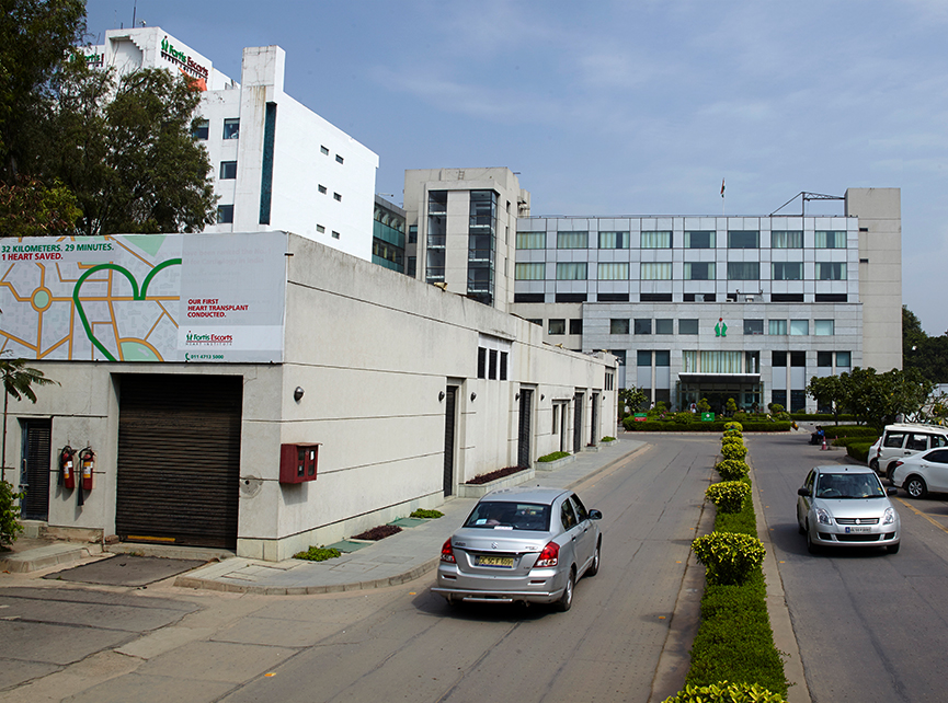 Hospitals in Okhla Road, Delhi - Fortis Escorts Heart